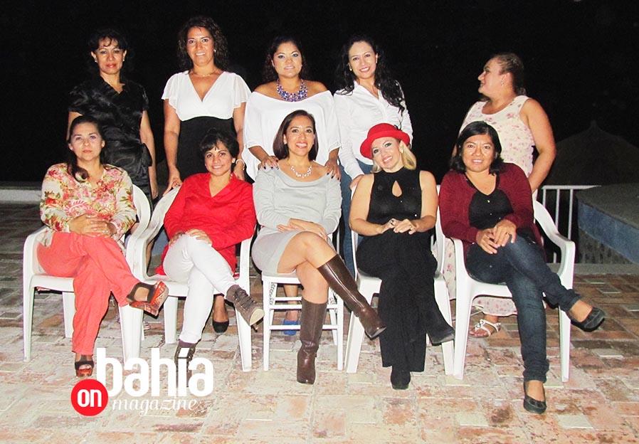 Integrantes de la Asociación de Secretarias y Asistentes Ejecutivas de Puerto Vallarta A.C.,