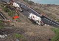 Se hunde carretera Tijuana-Ensenada; Alcalde culpa a Capufe