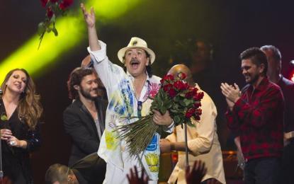 """Santana y sus amigos dejan su """"Corazón"""" en Vallarta-Nayarit"""