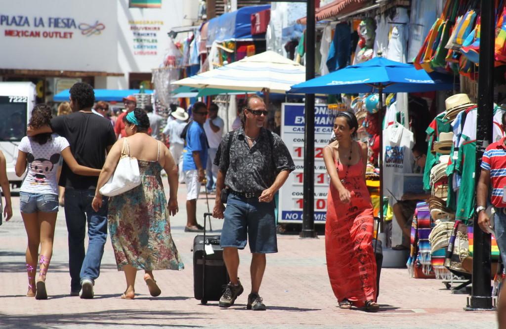 El turismo fronterizo también presenta un aumento positivo.