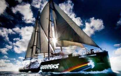 "El ""Rainbow Warrior"" de Greenpeace arribará a Puerto Vallarta"