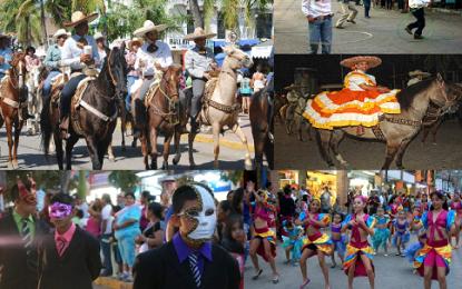 Un Carnaval muy charro en La Peñita de Jaltemba