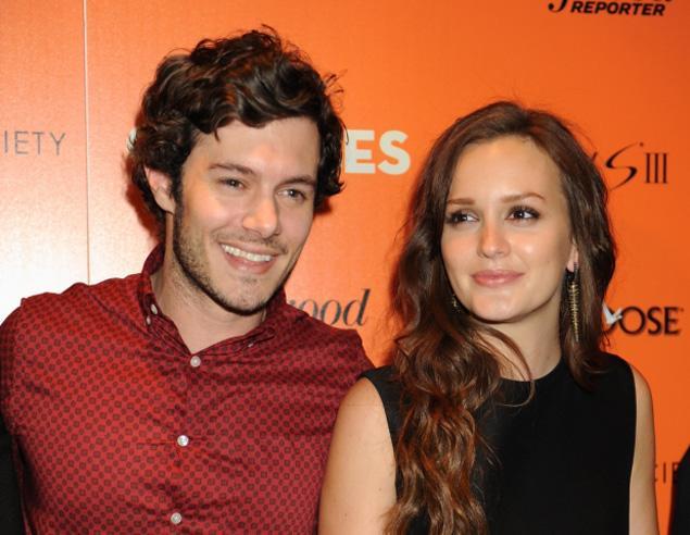 """La ex estrella de """"Gossip Girl"""" y Brody trabajaron juntos en el filme de 2011 The Oranges."""