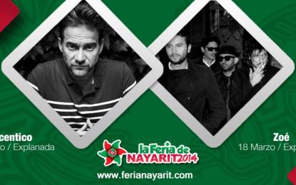 Juegos gratis y artistas llenan de alegría la Feria Nayarit 2014