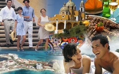 Capta México por turismo 13 mil 900 mdd en 2013