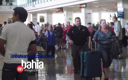 Creció 9% arribo de turistas internacionales por vía aérea