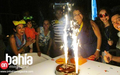 El cumpleaños de Silvia Duarte en el Eva Mandarina Beach Club