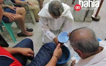 Lavatorio de pies, símbolo de humildad y servicio