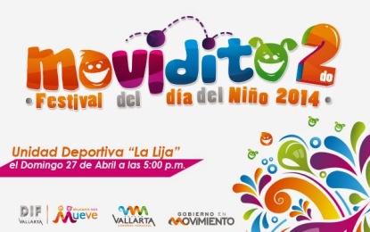 """Este domingo, 2do. Festival Infantil """"Moviditos"""""""