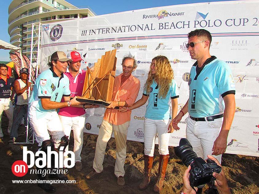 """E! Entertainment """"Agua Alta"""" Careyes, campeón de la Copa de Polo en Playa"""