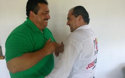 Raúl de los Santos se suma a campaña de José Gómez