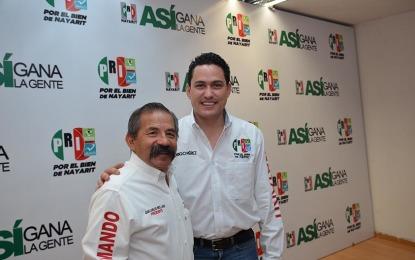 Presenta PRI al coordinador de campaña en el Estado