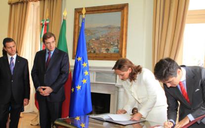 Firman México y Portugal acuerdo de cooperación en materia turística