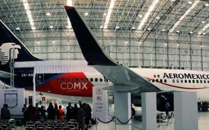 Llevará Aeroméxico marca Ciudad de México
