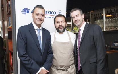 Aeroméxico estrena menú diseñado por el chef Enrique Olvera