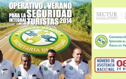 Listo, operativo vacacional de Verano 2014