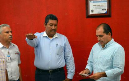 Renueva Alcalde la Dirección del Oromapas