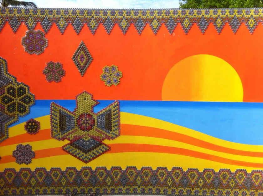 On bahia magazine destinos arte colectivo en las fiestas for Arte colectivo mural