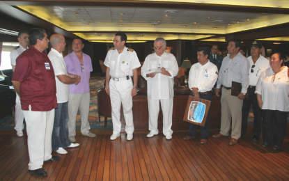 Puerto Vallarta da la bienvenida al crucero Coral Princess