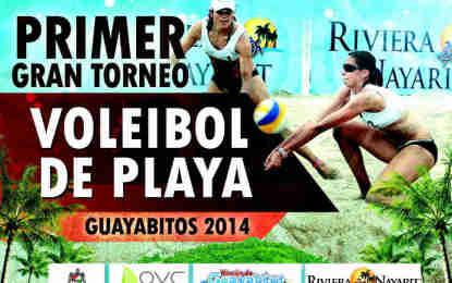 Invitan al 1er Torneo de Voleibol de Playa Guayabitos 2014