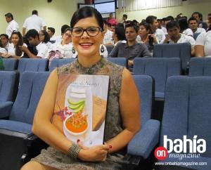 """Alondra Maldonado, autora de """"Sabores de Nayarit...""""."""