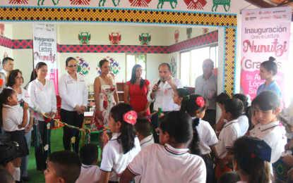 Inaugura DIF Nayarit Sala de Lectura en Bahía de Banderas