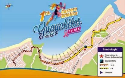 Invitan a Carrera Atlética 5-10K Guayabitos 2014