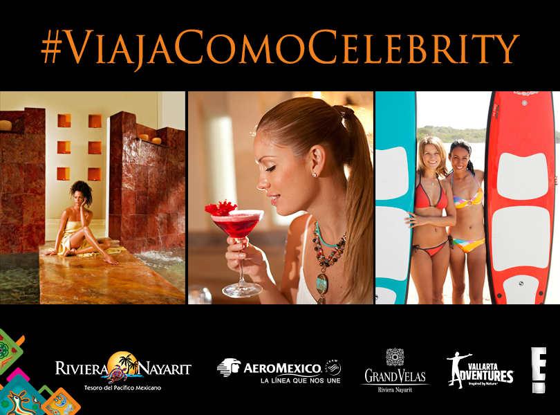 ¡Viaja como una celebridad a Riviera Nayarit!