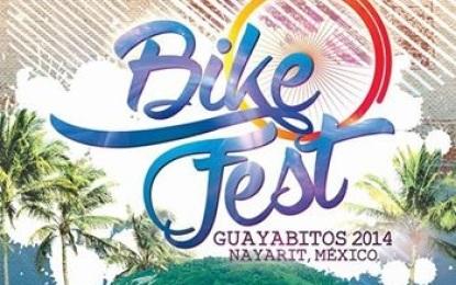 Ya viene, el 1er Bike Fest Guayabitos 2014