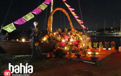 Un éxito, Festival de Muertos, Altares y Ofrendas en Marina Nuevo Vallarta