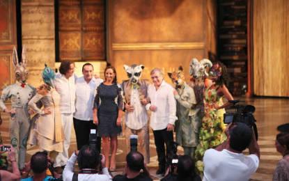 Inauguran teatro de Cirque du Soleil en la Riviera Maya