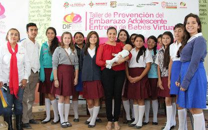 Pone en marcha Monserratt Peña de Gómez programa de Bebés Virtuales