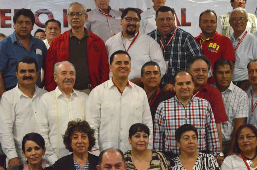 Riviera Nayarit y el municipio de Bahía de Banderas fueron sede de la reunión nacional de líderes de trabajadores de la radiodifusión en México de la CTM.