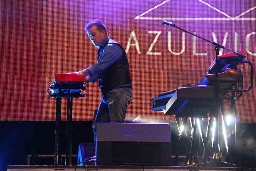 En el escenario Azul Violeta demostró que son una banda con pasado y con un gran presente.