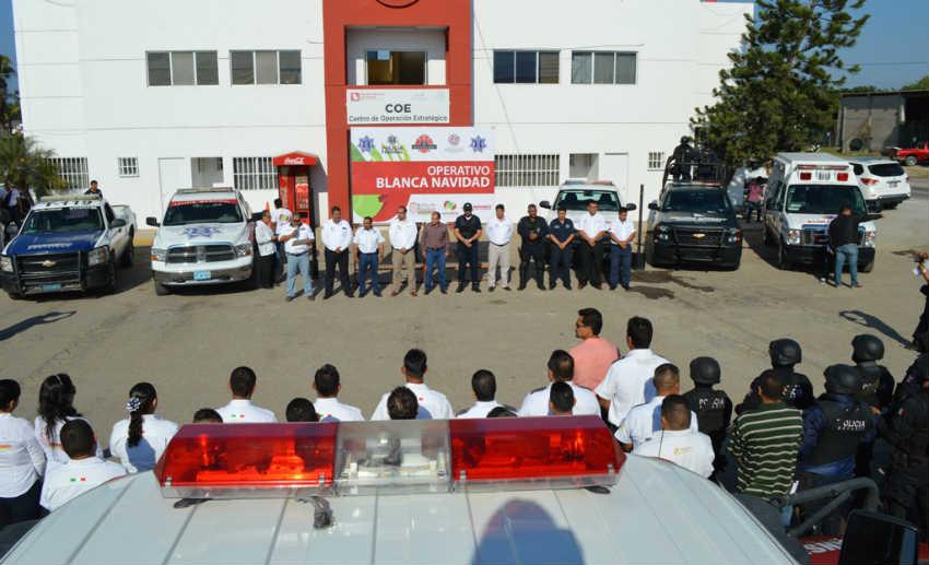 Refrenda José Gómez su compromiso de brindar seguridad.