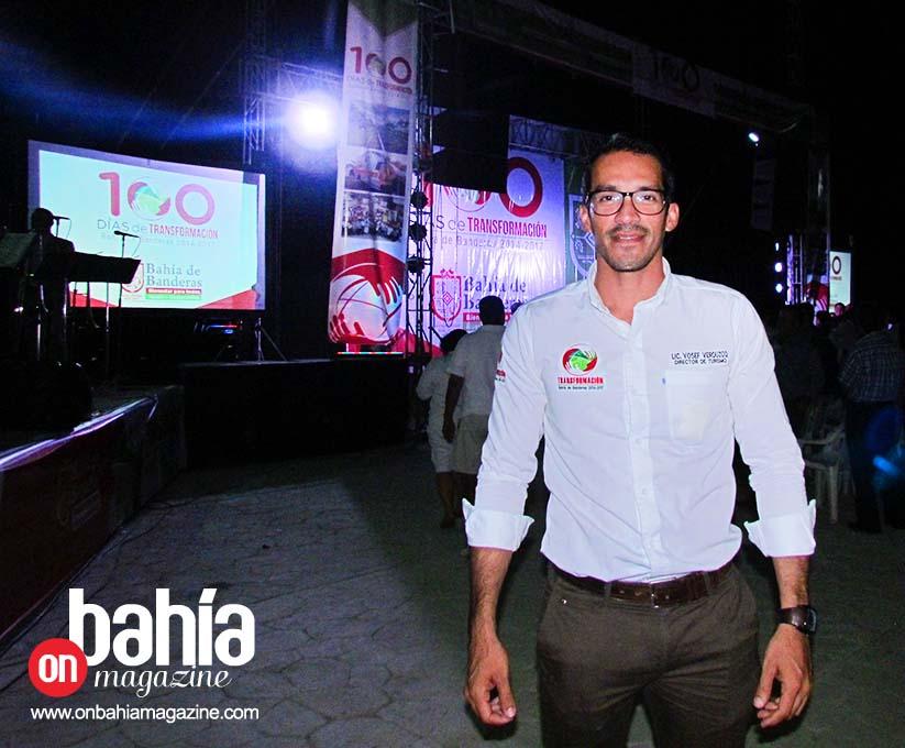 Yosef Amin Flores Verduzco, director de Turismo de Bahía de Banderas.