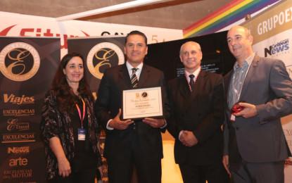 Nayarit recibe el premio Excelencias en la Fitur 2015 de Madrid