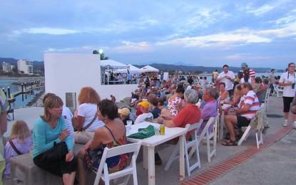 """Disfrutan cientos """"A Taste of La Cruz"""" en Marina Riviera Nayarit"""