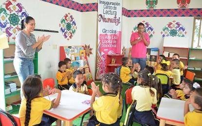 Sala de Lectura Nunutzy es de todos los niños: Monserratt Peña de Gómez