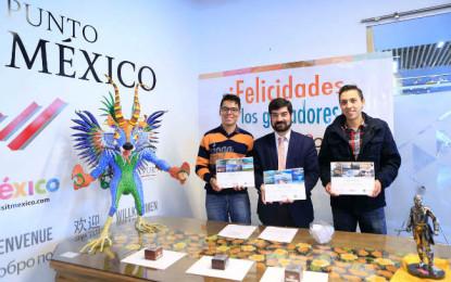 Viajan con la Sectur ganadores de la convocatoria #AmoMéxico