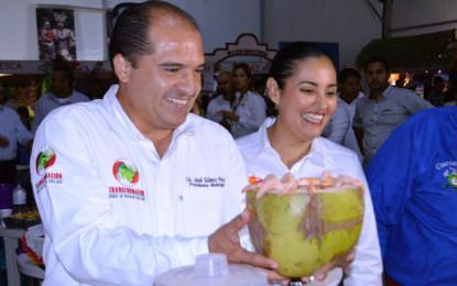 Encabeza José Gómez expo gastronómica en la Feria de Nayarit