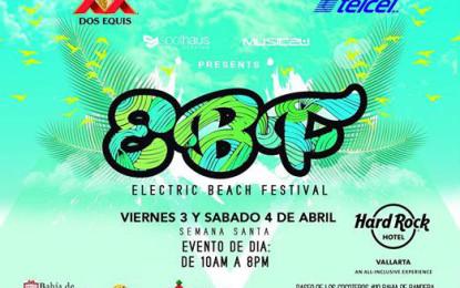 Riviera Nayarit invita al Electric Beach Festival