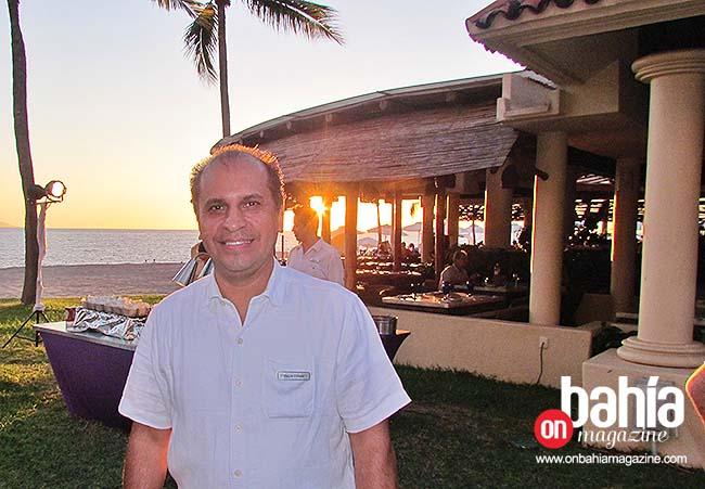 David Gauna, gerente general de CasaMagna Marriott. (Foto: Rodolfo Preciado).