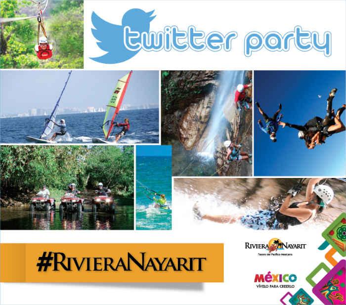Es tiempo de la 4ta. Twitter Party de Riviera Nayarit