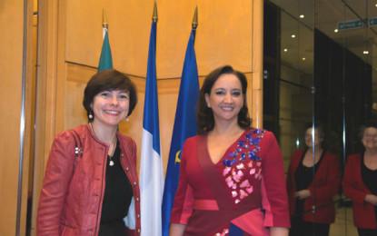 Impulsa Ruiz Massieu agenda de cooperación turística con Francia