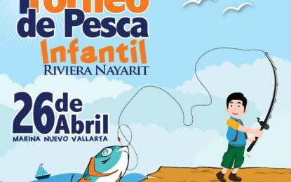 Realizarán 1er. Torneo de Pesca Infantil Riviera Nayarit