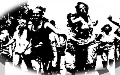 5k Zombie Fun Run en La Cruz de Huanacaxtle
