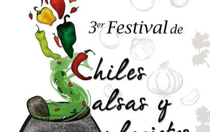 Muy pronto, Tercer Festival de Chiles, Salsas y Molcajetes