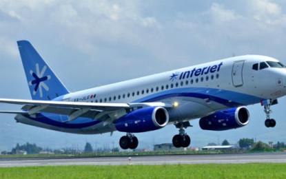 Interjet inaugura vuelo México-Houston