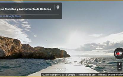 Google Maps capta Las Islas Marietas en 360°
